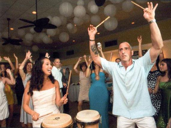 BrideandGroom-Drumming